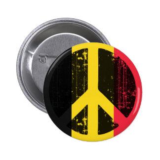 Peace In Belgium Pinback Button