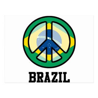 Peace In Brazil Postcard