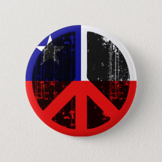Peace In Chile 2 Inch Round Button