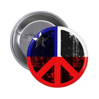Peace In Chile 2 Inch Round Button