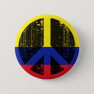 Peace In Colombia 2 Inch Round Button