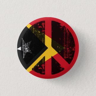 Peace In East Timor 1 Inch Round Button