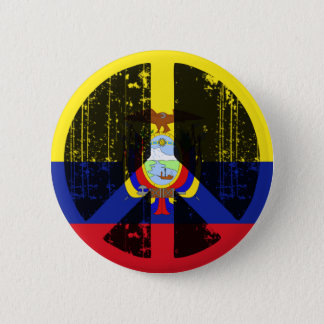 Peace In Ecuador 2 Inch Round Button