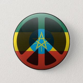 Peace in Ethiopia 2 Inch Round Button