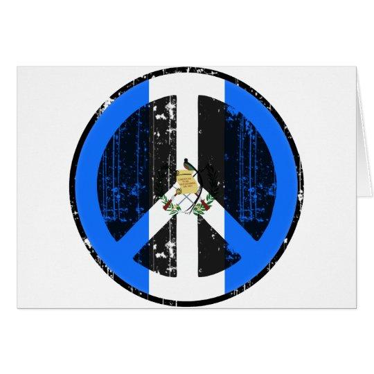 Peace In Guatemala Card
