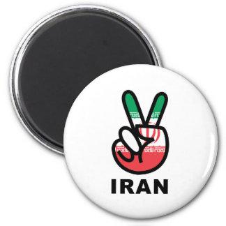 Peace In Iran Magnet
