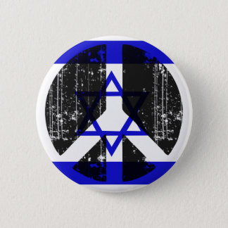 Peace In Israel 2 Inch Round Button