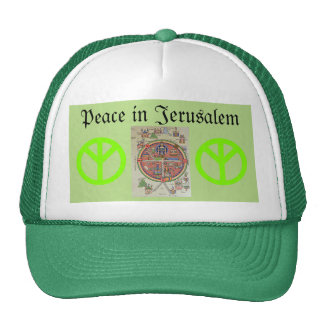 Peace in Jerusalem hat