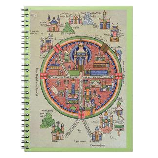 Peace in Jerusalem noteebook Spiral Notebooks