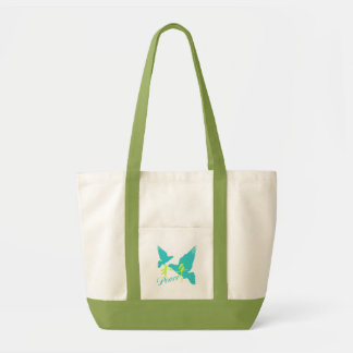 Peace in Kanji Accent Bag