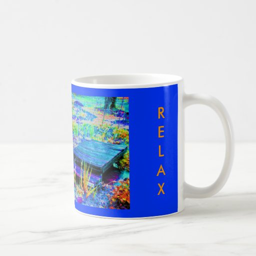 Peace in MaMaw's Garden-Relax Mugs