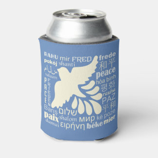 PEACE in many languages custom name can cooler