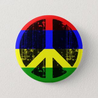 Peace In Mauritius 2 Inch Round Button