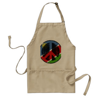 Peace In Namibia Standard Apron