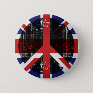 Peace In New Zealand 2 Inch Round Button