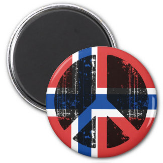 Peace In Norway Magnet