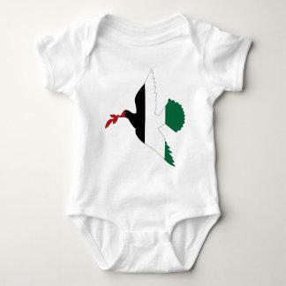 Peace in Palestine Baby Bodysuit