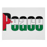 Peace in Palestine Poster