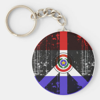 Peace In Paraguay Keychain