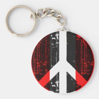 Peace In Peru Keychain