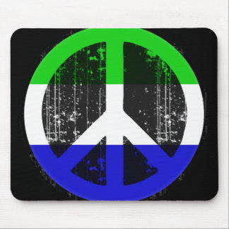 Peace In Sierra Leone Mouse Pad