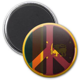 Peace in Sri Lanka Magnet