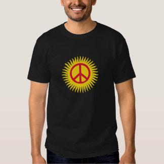 Peace in Sun Tshirts