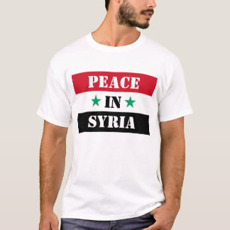 PEACE IN SYRIA T-Shirt
