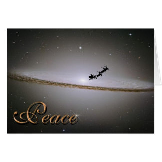 Peace In the Galaxy Christmas Card