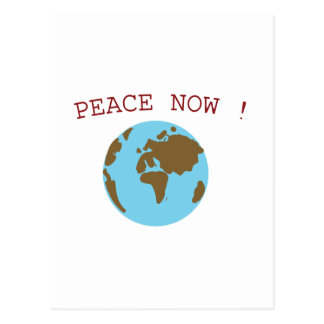 Peace in the World Postcard