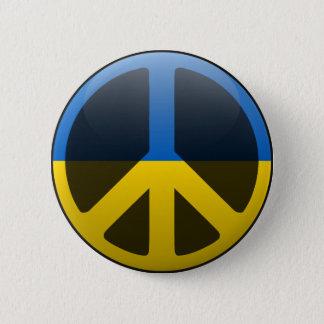 Peace in Ukraine 2 Inch Round Button