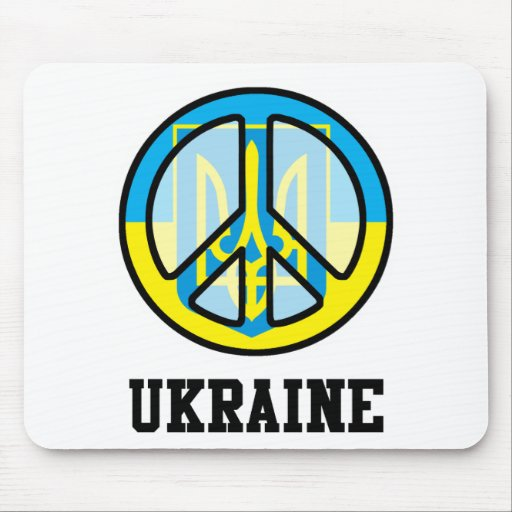 Peace In Ukraine Mouse Pad
