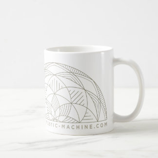 Peace is very rarely quiet coffee mug