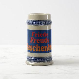Peace joy Flaschenbier Coffee Mugs