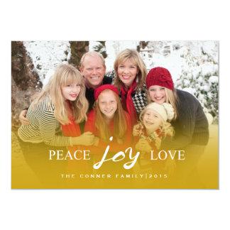 Peace Joy Love | HOLIDAYS Card