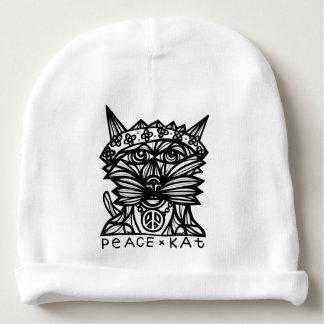 """Peace Kat"" Baby Beanie"