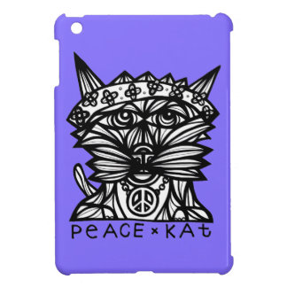 """Peace Kat"" iPad Mini Case"