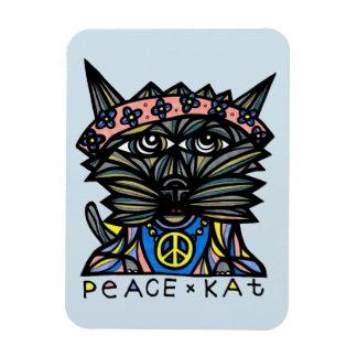 """""""Peace Kat"""" Magnet"""