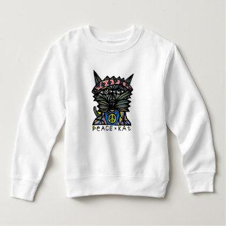 """""""Peace Kat"""" Toddler Sweatshirt"""