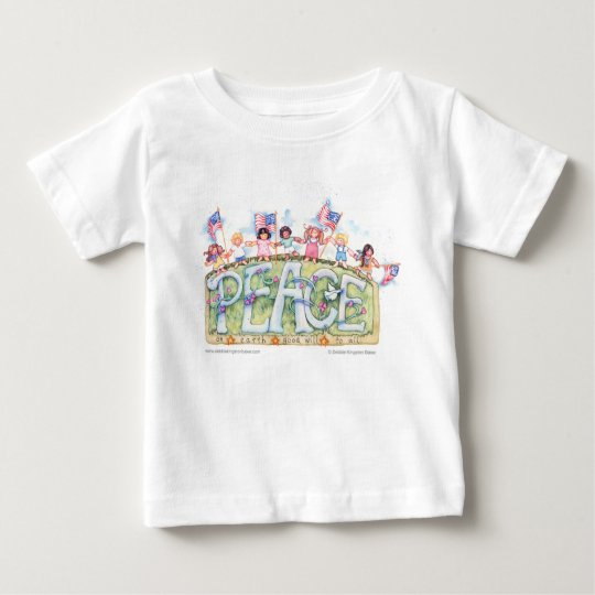 Peace Kids Baby T-Shirt