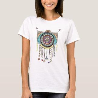 Peace Kite Dangle Illustration T-Shirt