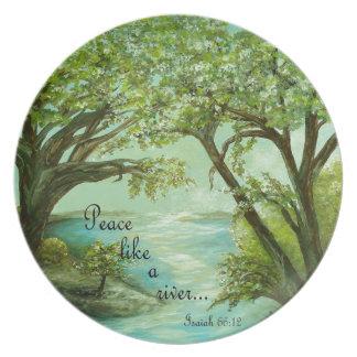 Peace  Like a River Plate