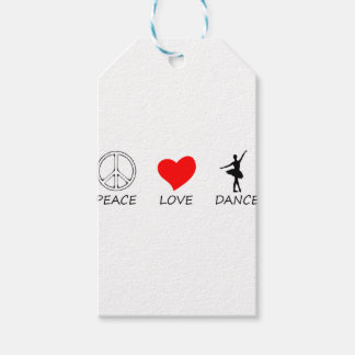 peace love12 gift tags