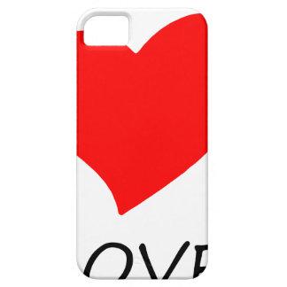 peace love12 iPhone 5 case