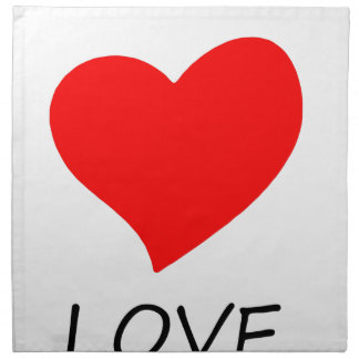 peace love12 napkin