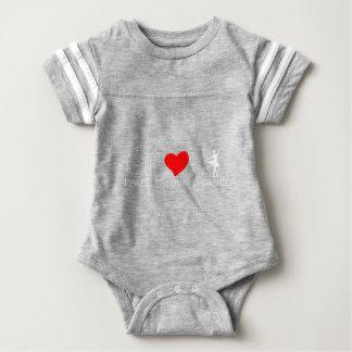 peace love13 baby bodysuit