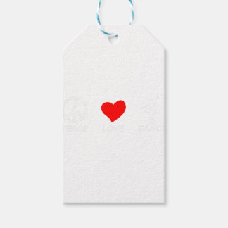 peace love13 gift tags