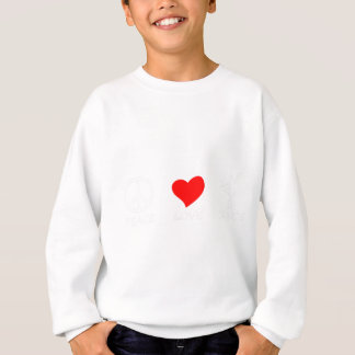 peace love13 sweatshirt