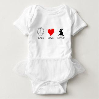 peace love14 baby bodysuit