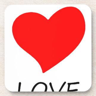 peace love14 coaster